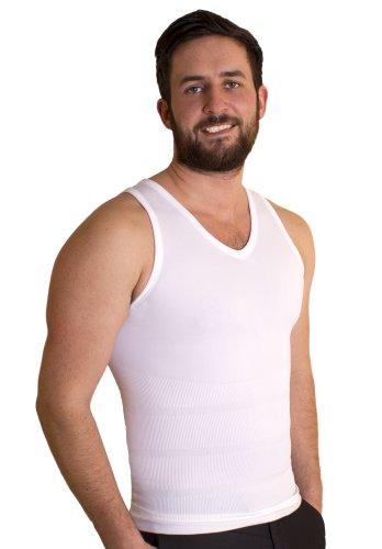 tone-tee-vest-large-white