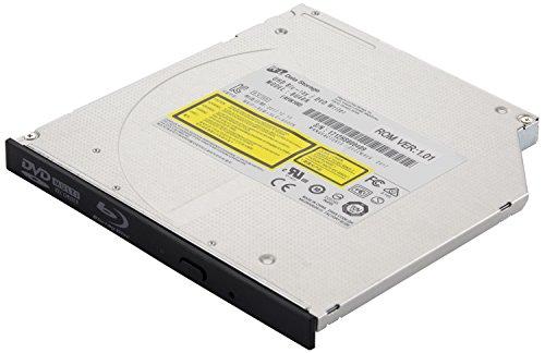 LG interner Sata 3 Blu-ray Brenner BU40N (mit Blende schwarz), geeignet für CD, DVD und BD, 9,5 mm hoch (Ultra Slim) Lg Ultra Slim