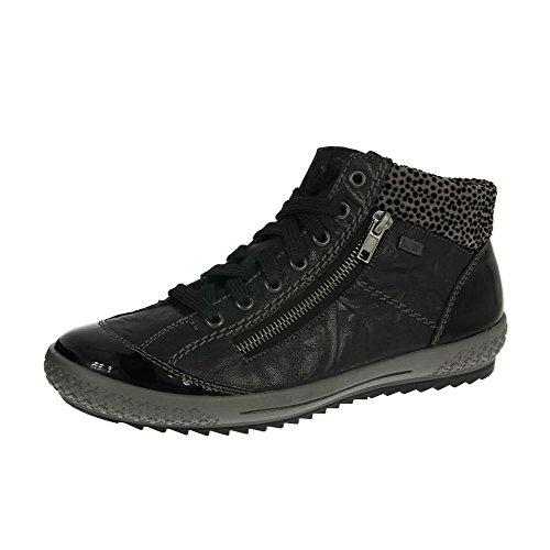 Rieker-Frauen-m6143-01-Stiefel-schwarz Schwarz g3xenwt