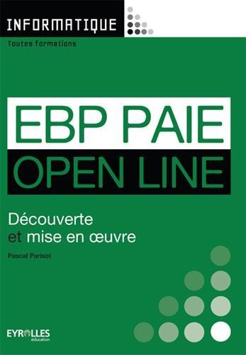 EBP paie open line : Découverte et mise en ouvre