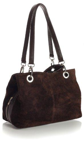 big-handbag-shop-petit-sac-a-main-en-cuir-et-daim-pour-femme-double-anse-et-poches-multiples-coffee-