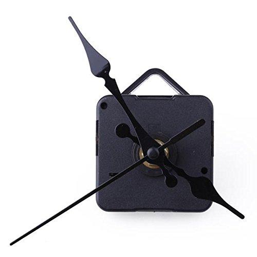Sodial(r) movimento + lancette nero da ricambio orologio tavolo parete accessori