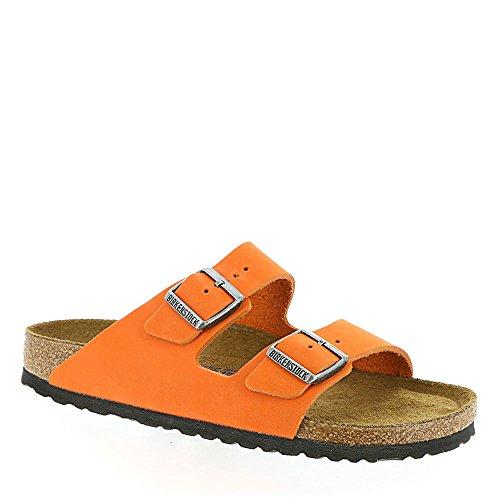 BIRKENSTOCK Arizona 252271, Unisex Sandalen Erwachsene, Orange - Orange - Größe:42 (Sandale Womens Arizona)