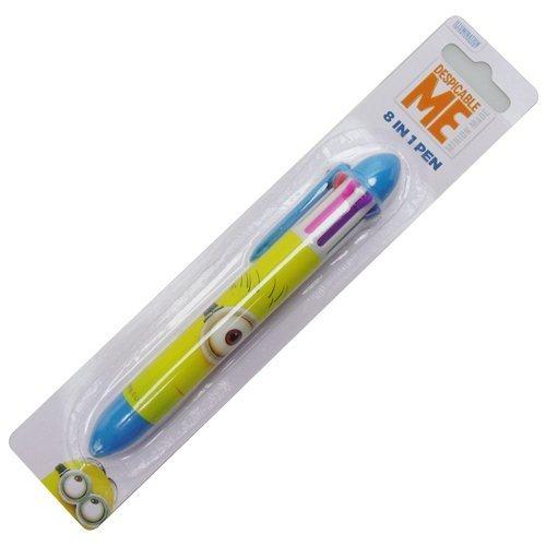 mprisable-officiel-me-minions-huit-dans-un-stylo-de-couleur