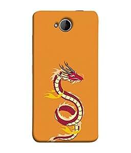 PrintVisa Animated Snake 3D Hard Polycarbonate Designer Back Case Cover for Microsoft Lumia 650 :: Microsoft Lumia 650 Dual SIM
