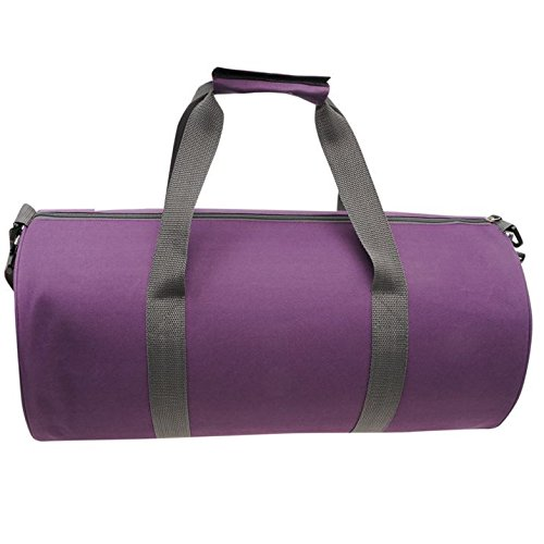 Lonsdale Barrel Bag, Palestra Fitness Borsa Da Viaggio Viola - Viola/Grigio