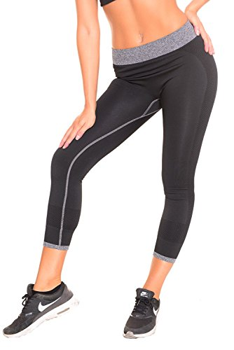 B.BANG Women's Capri Tights Running Yoga Pants Workout Pants (Pants Capri Spandex Womens)