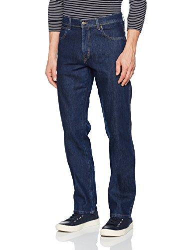 Wrangler Herren Regular Fit Jeans, Dark Blau (Blue), 32W / 32L Wrangler-dark Blue Denim