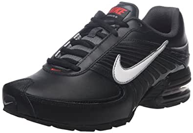 Nike Air Max Torch VI SL, Chaussures de Baseball pour Homme Noir Black/White-Challenging Red