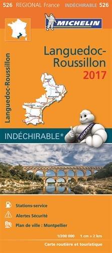 Carte Languedoc-Roussillon Michelin 2017 par Collectif Michelin