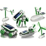 higadget 6 in 1 Solar Robot Kit Toys for Kids, Educational and Learning Robotic Kit