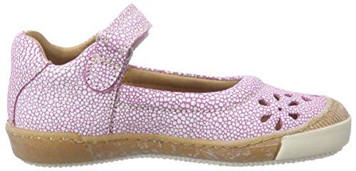 Bisgaard Mädchen Ballerina Mary Jane Halbschuhe Pink (125 Cerise)