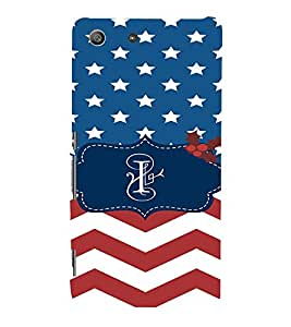 EPICCASE American Flag Mobile Back Case Cover For Sony Xperia M5 (Designer Case)