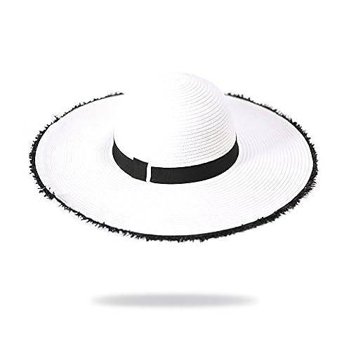 Grand chapeau/Chapeaux Derby/Ping Sun Hat, Sun/Chapeaux de fête/Chapeaux de plage-B