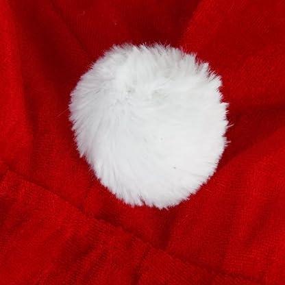 TOOGOO(R)Traje Sudadera con capucha del perro de Papa Noel – Talla M