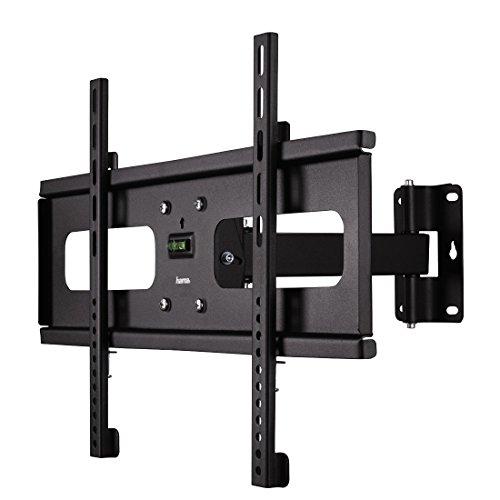 Hama TV-Wandhalterung Fullmotion, neigbar, schwenkbar (vollbeweglich), für 81 - 127 cm Diagonale (32 bis 50 Zoll), für max. 45 kg, VESA bis 600x400, schwarz