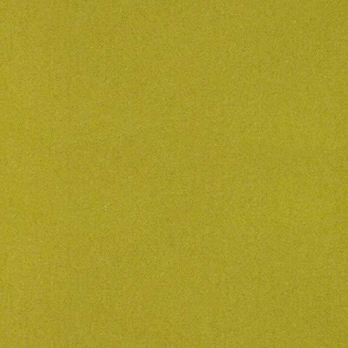 englisch dekor Tela para Muebles de decoración Inglesa, ignífuga, Color Verde, como Tela de tapicería Resistente para Coser y Relax, Lana Virgen, Poliamida, Aislamiento acústico, oscurecimiento
