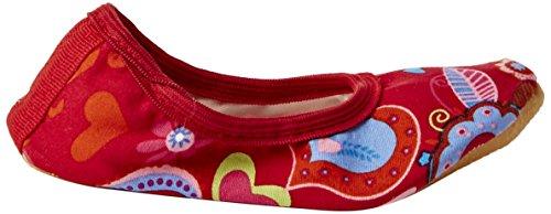 Beck Fantasy, Chaussures de Gymnastique fille Rouge - Rot (07)