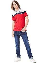 Lois Polo T-Shirt_Reds/Burgundy Hombre