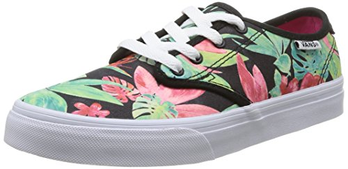 Vans Z Camden, Baskets mode fille Multicolore (Tropical Flora)