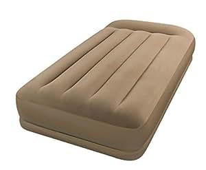 intex matelas lectrique gonflable 1 place mid rise sports et loisirs. Black Bedroom Furniture Sets. Home Design Ideas