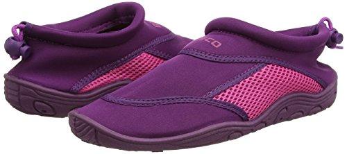BECO chaussure aquatique chaussures de bain chaussons deau chausson de sport pour femme et homme divers couleurs bleu