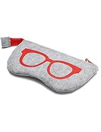 BIKITIQUE Tragbare Reißverschluss Weichen Fall Eyesglasses Box Tasche Geldbörse Kosmetiktasche