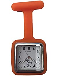 FunkyFobz Square Silicone Fob Watch with Gift Pouch,for Nurse, Midwife, healthcare Professionals