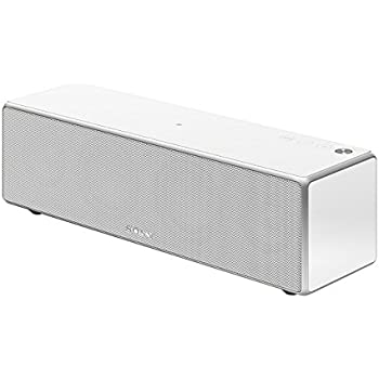 Sony SRS-ZR7 High-Resolution Audio Multi-Room Speaker with Wireless Stereo and Surround Capability - White