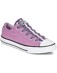Converse Chuck Taylor All Star loopholes Slip Ox Sneaker niños rosa / lila Talla:10.5 US - 27 EU