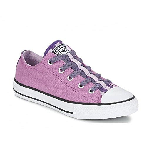 Converse Star Player Ev 3v, Unisex Kinder Durchgängies Plateau Sandalen mit Keilabsatz, Violett - violett - Größe: 36 (Kinder Converse Sandalen)