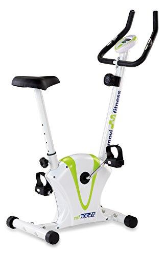 JK Fitness MF600 Cyclette Magnetica, Bianco