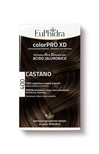 Euphidra Tinta Color Pro XD 400 Colorazione Permanente senza ammoniaca CASTANO