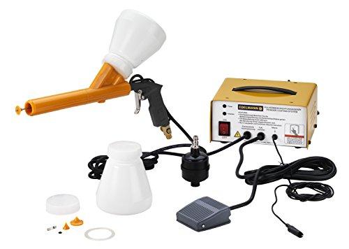 Preisvergleich Produktbild Pulverbeschichtungsgerät Pulverpistole Pulverbeschichten Beschichtungssystem Ausbeulwerkzeug ausbeulen PDR Klebetechnik 2701