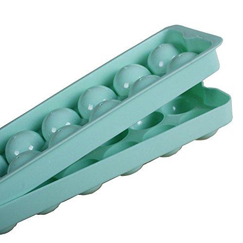 14GitternetzEisKugel-Bereich-Hersteller-Form-Eis-Würfel-Behältermachenzufällige Farbe