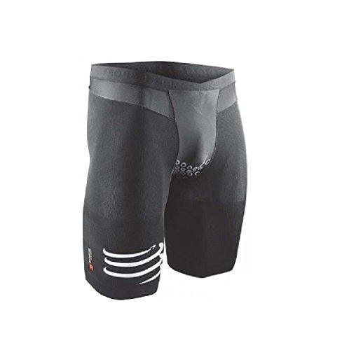 Compressport Triathlon TR3 Brutal Shorts V2, Schwarz, M, SHTRIV2-99-T2 (Triathlon Bekleidung Herren)