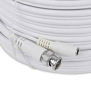 SIENOC BNC macho a macho cable para RG59 CCTV c/ámara CCTV coaxial BNC macho a cable macho