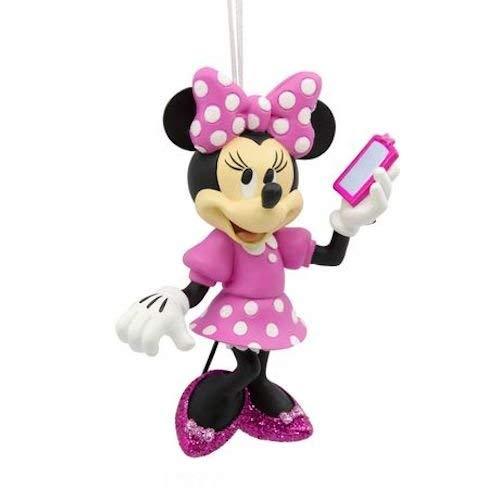 Hallmark Minnie Maus Pink Polka Dot Handy, rote Box Ornament 2017