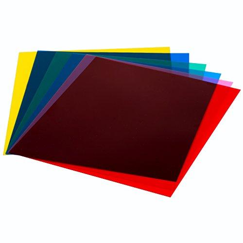 neewerr-7-x8-18-x-20-cm-color-transparente-correccion-de-iluminacion-de-gel-filtro-set-de-6-hoja-de-