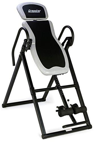 #Gregster Inversionstisch/Gravity Trainer mit Perfect-Balance System, Körpergröße bis 199cm, Benutzergewicht bis 135kg#