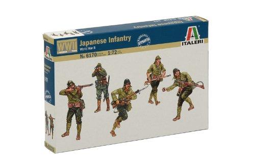 Italeri 6170 - wwii: japanese infantry scala 1:72