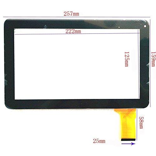"EUTOPING ® Schwarz Farbe 10.1 Zoll Touchscreen - digitizer Alternative für 10.1"" Denver TAQ-10133 TAQ 10133"