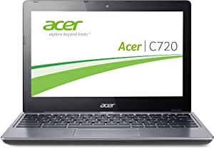 Acer C720-29552G01AII 29,5 cm (11,6 Zoll) Chromebook (Intel Celeron 2955U, 1,4GHz, 2GB RAM, 16GB SSD, Intel HD, Chrome) grau