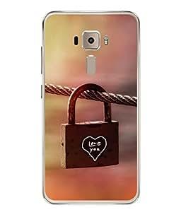 PrintVisa Designer Back Case Cover for Asus Zenfone 3 ZE552KL (5 inches) (Key Safety Old Closed Symbol Tradition)
