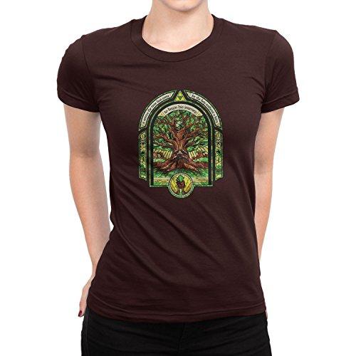 Planet Nerd - The Boy without a Fairy - Damen T-Shirt Braun