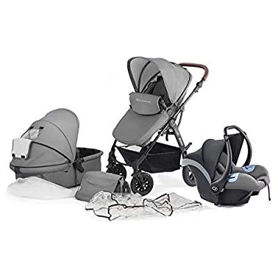 KinderKraft Moov Travel System (Grey)  Cosatto