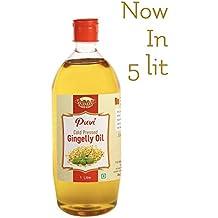 Puvi Cold Pressed Gingelly/Sesame Oil (Virgin, Chekku/Ghani) - 1 Litre
