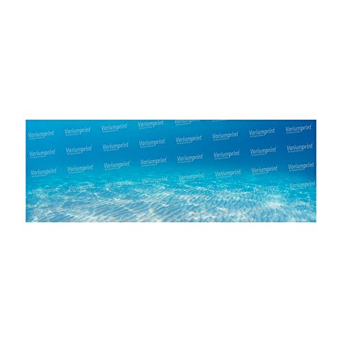 Variumprint die Aquariumfolie Aquarium Rückwandfolie Rückwand Selbstklebend mit Motiv Fotorückwand Blue Sea VMO-0102 (B 200 x H 60 cm)