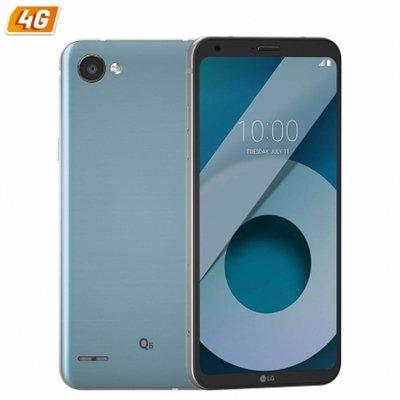 LG Q6 M700N - Teléfono móvil de 5.5' FHD (13 megapixeles, 3 GB RAM, Qualcomm MSM8940, Android 7.1.1) Color Negro