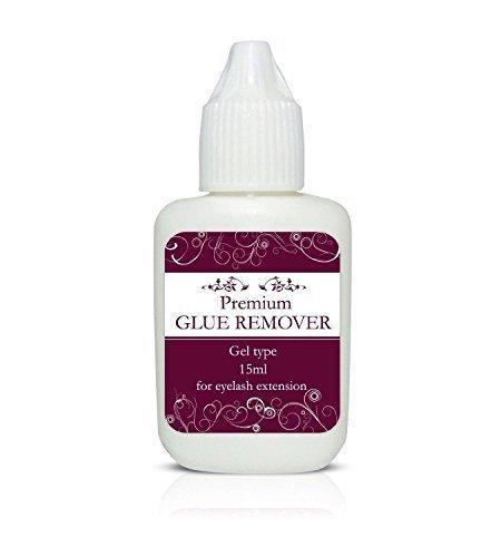 Premium Gel Type Dissolvant de colle/Pamplemousse parfumé solvant - 15ml - Extensions de cils - Premium Gel Solvant